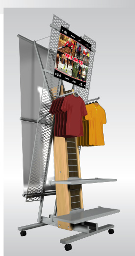 Freestanding Product Display
